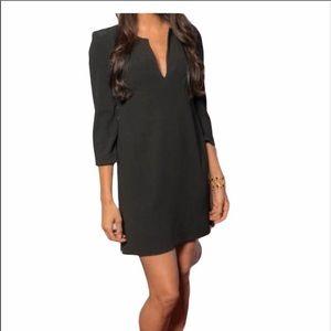 T. Babaton black Sheath Mini Dress